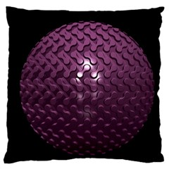 Sphere 3d Geometry Math Design Large Flano Cushion Case (two Sides)