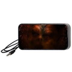 Monster Demon Devil Scary Horror Portable Speaker