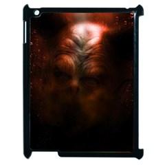 Monster Demon Devil Scary Horror Apple Ipad 2 Case (black)