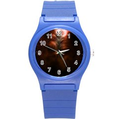 Monster Demon Devil Scary Horror Round Plastic Sport Watch (s)