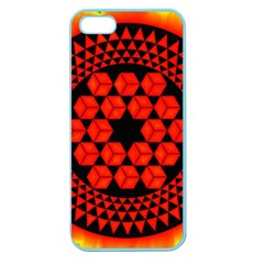Geometry Maths Design Mathematical Apple Seamless Iphone 5 Case (color)