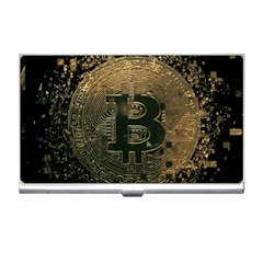 Bitcoin Cryptocurrency Blockchain Business Card Holders