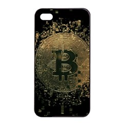 Bitcoin Cryptocurrency Blockchain Apple Iphone 4/4s Seamless Case (black)