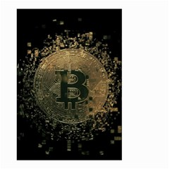 Bitcoin Cryptocurrency Blockchain Small Garden Flag (two Sides)