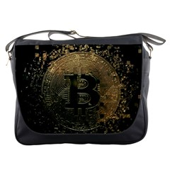 Bitcoin Cryptocurrency Blockchain Messenger Bags