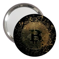 Bitcoin Cryptocurrency Blockchain 3  Handbag Mirrors
