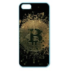 Bitcoin Cryptocurrency Blockchain Apple Seamless Iphone 5 Case (color)