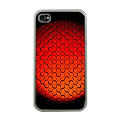 Sphere 3d Geometry Structure Apple Iphone 4 Case (clear)