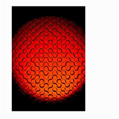 Sphere 3d Geometry Structure Large Garden Flag (two Sides)