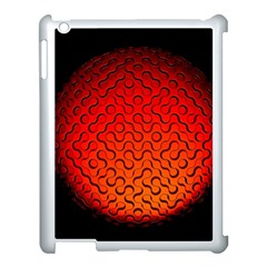Sphere 3d Geometry Structure Apple Ipad 3/4 Case (white)