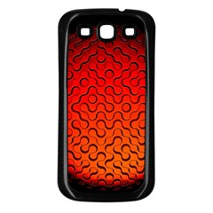 Sphere 3d Geometry Structure Samsung Galaxy S3 Back Case (black)