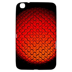 Sphere 3d Geometry Structure Samsung Galaxy Tab 3 (8 ) T3100 Hardshell Case