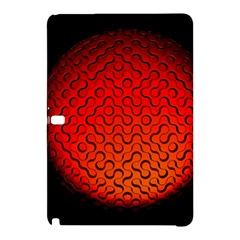 Sphere 3d Geometry Structure Samsung Galaxy Tab Pro 12 2 Hardshell Case