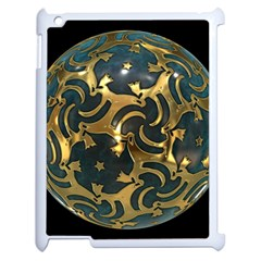 Sphere Orb Decoration 3d Apple Ipad 2 Case (white)