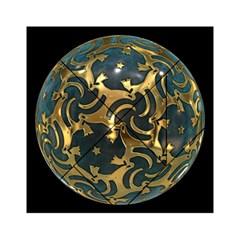 Sphere Orb Decoration 3d Acrylic Tangram Puzzle (6  X 6 )