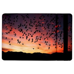Sunset Dusk Silhouette Sky Birds Ipad Air 2 Flip
