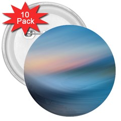 Wave Background Pattern Abstract Lines Light 3  Buttons (10 Pack)