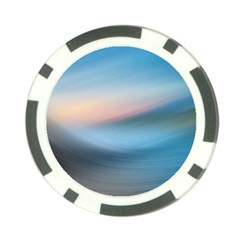 Wave Background Pattern Abstract Lines Light Poker Chip Card Guard (10 Pack)