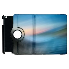Wave Background Pattern Abstract Lines Light Apple Ipad 3/4 Flip 360 Case