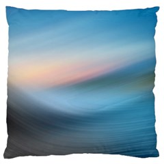 Wave Background Pattern Abstract Lines Light Large Flano Cushion Case (two Sides)