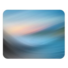 Wave Background Pattern Abstract Lines Light Double Sided Flano Blanket (large)