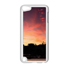 Sunset Silhouette Sun Sky Evening Apple Ipod Touch 5 Case (white)