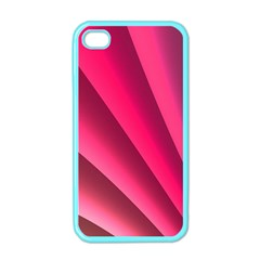 Wave Pattern Structure Texture Colorful Abstract Apple Iphone 4 Case (color)