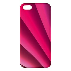 Wave Pattern Structure Texture Colorful Abstract Apple Iphone 5 Premium Hardshell Case