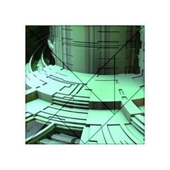 Futuristic Urban Architecture Acrylic Tangram Puzzle (4  X 4 )