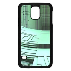 Futuristic Urban Architecture Samsung Galaxy S5 Case (black)
