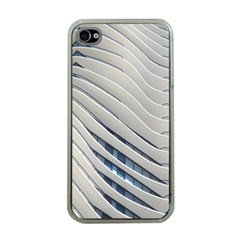 Aqua Building Wave Apple Iphone 4 Case (clear)