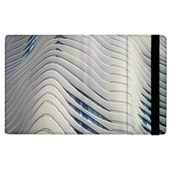 Aqua Building Wave Apple Ipad 2 Flip Case