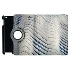 Aqua Building Wave Apple Ipad 3/4 Flip 360 Case