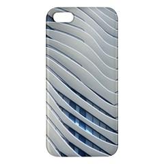 Aqua Building Wave Apple Iphone 5 Premium Hardshell Case