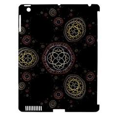 Background Pattern Symmetry Apple Ipad 3/4 Hardshell Case (compatible With Smart Cover)