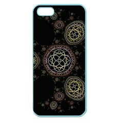 Background Pattern Symmetry Apple Seamless Iphone 5 Case (color)
