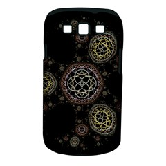 Background Pattern Symmetry Samsung Galaxy S Iii Classic Hardshell Case (pc+silicone)