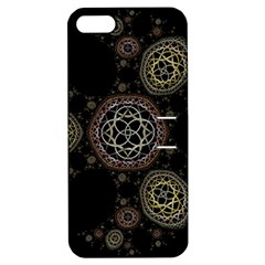 Background Pattern Symmetry Apple Iphone 5 Hardshell Case With Stand