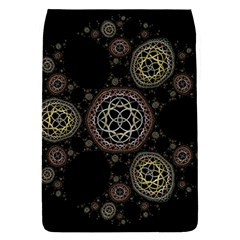 Background Pattern Symmetry Flap Covers (l)