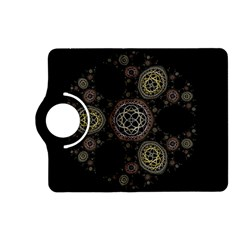 Background Pattern Symmetry Kindle Fire Hd (2013) Flip 360 Case