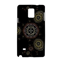 Background Pattern Symmetry Samsung Galaxy Note 4 Hardshell Case