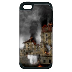 Destruction Apocalypse War Disaster Apple Iphone 5 Hardshell Case (pc+silicone)