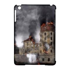 Destruction Apocalypse War Disaster Apple Ipad Mini Hardshell Case (compatible With Smart Cover)