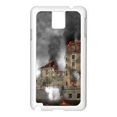 Destruction Apocalypse War Disaster Samsung Galaxy Note 3 N9005 Case (white)