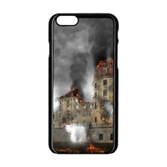 Destruction Apocalypse War Disaster Apple Iphone 6/6s Black Enamel Case