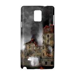 Destruction Apocalypse War Disaster Samsung Galaxy Note 4 Hardshell Case