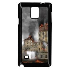 Destruction Apocalypse War Disaster Samsung Galaxy Note 4 Case (black)