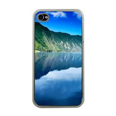 Mountain Water Landscape Nature Apple Iphone 4 Case (clear)