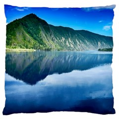 Mountain Water Landscape Nature Large Cushion Case (two Sides)