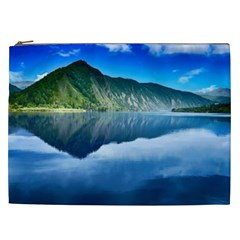 Mountain Water Landscape Nature Cosmetic Bag (xxl)